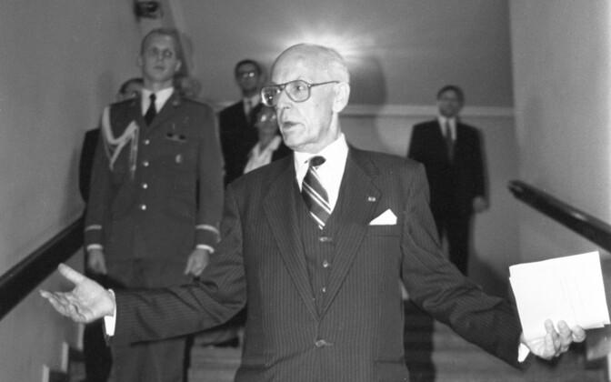 Lennart Meri. Foto: Faivi Kljutšik / ERR