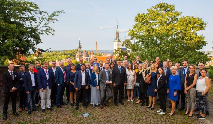 Norsk-estisk handelskammer NECC møter statsminister Jüri Ratas 24.8.2018. Foto: Statsministerens kontor.